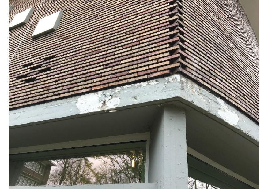 Rathaus 2018-07-12 VR 101 Foto Betonschaden Fassadentragwerk